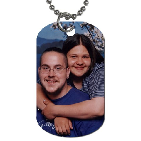Dogtag By Krystal Gosch   Dog Tag (one Side)   Wtl11w8n889o   Www Artscow Com Front