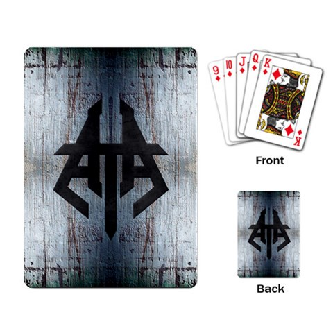 Htaa Cards By Rob Stangle   Playing Cards Single Design   Dwd7g6mezlz6   Www Artscow Com Back