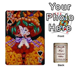 Wonderland Wedding By Rory Cornelius   Playing Cards 54 Designs   Yccc4y4lahjq   Www Artscow Com Front - Spade2