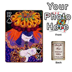 King Wonderland Wedding By Rory Cornelius   Playing Cards 54 Designs   Yccc4y4lahjq   Www Artscow Com Front - SpadeK