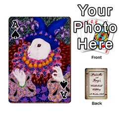 Ace Wonderland Wedding By Rory Cornelius   Playing Cards 54 Designs   Yccc4y4lahjq   Www Artscow Com Front - SpadeA