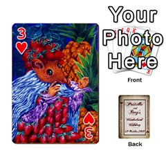 Wonderland Wedding By Rory Cornelius   Playing Cards 54 Designs   Yccc4y4lahjq   Www Artscow Com Front - Heart3