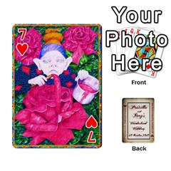 Wonderland Wedding By Rory Cornelius   Playing Cards 54 Designs   Yccc4y4lahjq   Www Artscow Com Front - Heart7