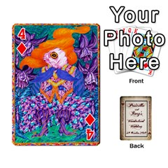 Wonderland Wedding By Rory Cornelius   Playing Cards 54 Designs   Yccc4y4lahjq   Www Artscow Com Front - Diamond4