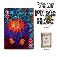 Ace Wonderland Wedding By Rory Cornelius   Playing Cards 54 Designs   Yccc4y4lahjq   Www Artscow Com Front - DiamondA