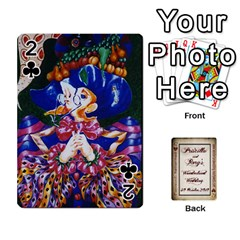 Wonderland Wedding By Rory Cornelius   Playing Cards 54 Designs   Yccc4y4lahjq   Www Artscow Com Front - Club2