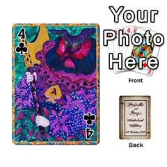 Wonderland Wedding By Rory Cornelius   Playing Cards 54 Designs   Yccc4y4lahjq   Www Artscow Com Front - Club4