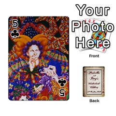 Wonderland Wedding By Rory Cornelius   Playing Cards 54 Designs   Yccc4y4lahjq   Www Artscow Com Front - Club5
