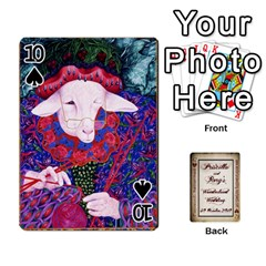 Wonderland Wedding By Rory Cornelius   Playing Cards 54 Designs   Yccc4y4lahjq   Www Artscow Com Front - Spade10