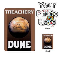 Dune Deck 2 By Luke Martinez   Multi Purpose Cards (rectangle)   F697gko00r38   Www Artscow Com Back 17