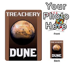 Dune Deck 2 By Luke Martinez   Multi Purpose Cards (rectangle)   F697gko00r38   Www Artscow Com Back 27