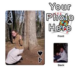 Ashe Cards By Nancy L Miller   Playing Cards 54 Designs   Gyt2k63ejv1i   Www Artscow Com Front - Spade4