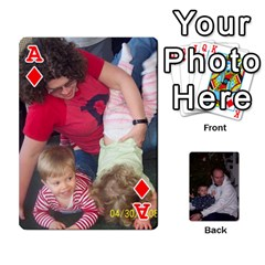 Ace Ashe Cards By Nancy L Miller   Playing Cards 54 Designs   Gyt2k63ejv1i   Www Artscow Com Front - DiamondA