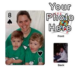 Ashe Cards By Nancy L Miller   Playing Cards 54 Designs   Gyt2k63ejv1i   Www Artscow Com Front - Spade8