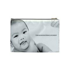 Jhace By Faye Vagay   Cosmetic Bag (medium)   Ugtv7eqhai99   Www Artscow Com Back