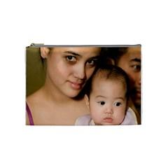 Mommy N Ella By J   Cosmetic Bag (medium)   2ptg46mwgfpu   Www Artscow Com Front