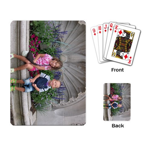 Cards By Juliann Marchant   Playing Cards Single Design   7di5vtbyjwzr   Www Artscow Com Back