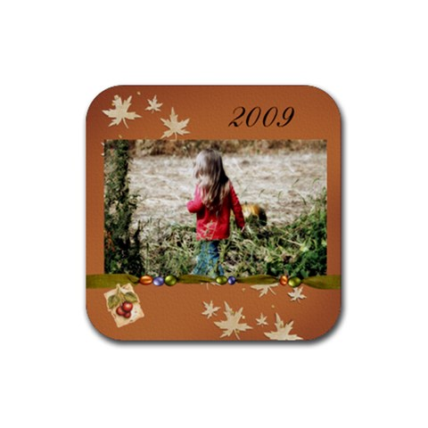 2009 Coaster By Tammy Baker   Rubber Coaster (square)   Wtf49cmlv1wd   Www Artscow Com Front