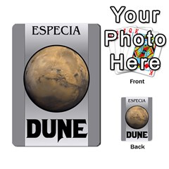 Dune By Pedrito   Multi Purpose Cards (rectangle)   3mzbd6fts7ji   Www Artscow Com Back 49