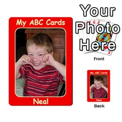 Abc Family Cards2 By Debra Macv   Playing Cards 54 Designs   Xs5w685yl7hb   Www Artscow Com Back