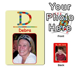 Abc Family Cards2 By Debra Macv   Playing Cards 54 Designs   Xs5w685yl7hb   Www Artscow Com Front - Spade9