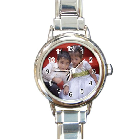My Kids By Annaleen Gay N  Nav   Round Italian Charm Watch   Soyxva6fyilg   Www Artscow Com Front
