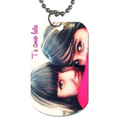 Chapa By Lydia   Dog Tag (two Sides)   Jogcpu44rxno   Www Artscow Com Back