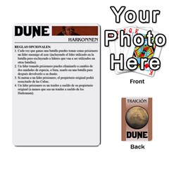 Dune 2 By Pedrito   Playing Cards 54 Designs   Bak0zen7eu3z   Www Artscow Com Front - Club8