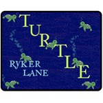 Turtle bigblanket - Fleece Blanket (Medium)