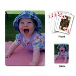 Heidi cards - Playing Cards Single Design