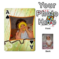 Ace Card By Asya   Playing Cards 54 Designs   6tvz73t9dlff   Www Artscow Com Front - SpadeA