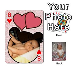 Card By Asya   Playing Cards 54 Designs   6tvz73t9dlff   Www Artscow Com Front - Heart8