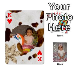 King Card By Asya   Playing Cards 54 Designs   6tvz73t9dlff   Www Artscow Com Front - HeartK