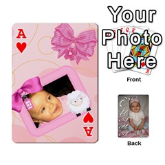 Ace Card By Asya   Playing Cards 54 Designs   6tvz73t9dlff   Www Artscow Com Front - HeartA