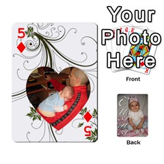 Card By Asya   Playing Cards 54 Designs   6tvz73t9dlff   Www Artscow Com Front - Diamond5