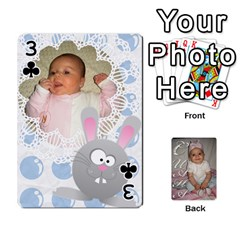 Card By Asya   Playing Cards 54 Designs   6tvz73t9dlff   Www Artscow Com Front - Club3