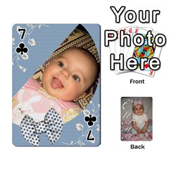 Card By Asya   Playing Cards 54 Designs   6tvz73t9dlff   Www Artscow Com Front - Club7