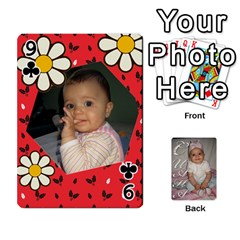 Card By Asya   Playing Cards 54 Designs   6tvz73t9dlff   Www Artscow Com Front - Club9