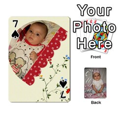 Card By Asya   Playing Cards 54 Designs   6tvz73t9dlff   Www Artscow Com Front - Spade7
