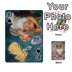 Card By Asya   Playing Cards 54 Designs   6tvz73t9dlff   Www Artscow Com Front - Spade10