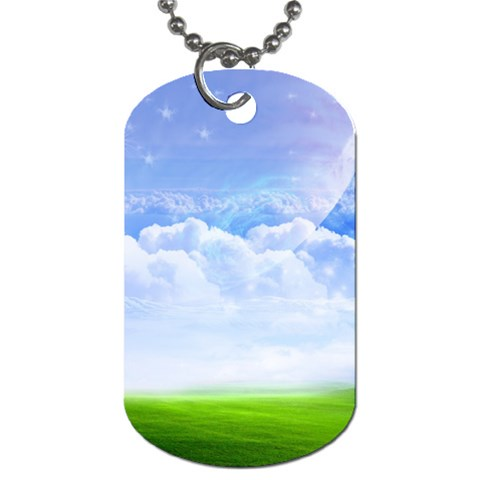 Dog Tag  By Puneet  Jain   Dog Tag (one Side)   8o23fizvr72z   Www Artscow Com Front