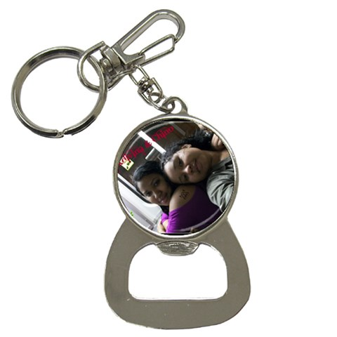 Sisters By Kerry Ann Smith   Bottle Opener Key Chain   Hoi1k30g0r2y   Www Artscow Com Front