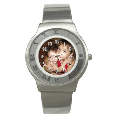 By Willa Stock   Stainless Steel Watch   Dkm0f9wy8jxn   Www Artscow Com Front