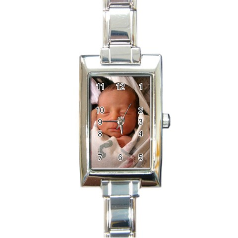 By Krystal M    Rectangle Italian Charm Watch   Bdzznvxkvfhs   Www Artscow Com Front