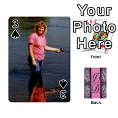 Dede Deck By Julie Wilber   Playing Cards 54 Designs   Pqgb3na4cmsr   Www Artscow Com Front - Spade3
