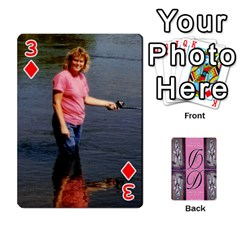 Dede Deck By Julie Wilber   Playing Cards 54 Designs   Pqgb3na4cmsr   Www Artscow Com Front - Diamond3