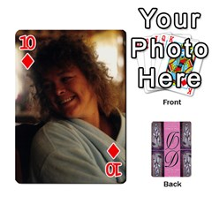 Dede Deck By Julie Wilber   Playing Cards 54 Designs   Pqgb3na4cmsr   Www Artscow Com Front - Diamond10