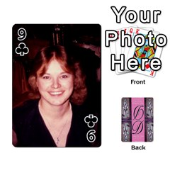 Dede Deck By Julie Wilber   Playing Cards 54 Designs   Pqgb3na4cmsr   Www Artscow Com Front - Club9