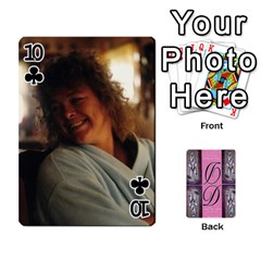 Dede Deck By Julie Wilber   Playing Cards 54 Designs   Pqgb3na4cmsr   Www Artscow Com Front - Club10
