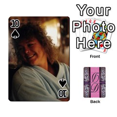 Dede Deck By Julie Wilber   Playing Cards 54 Designs   Pqgb3na4cmsr   Www Artscow Com Front - Spade10